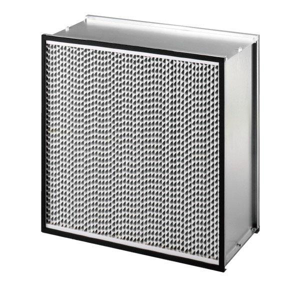 Aluminum Hepa Filters (Single Pleat)