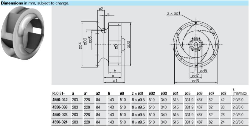 RLO 51-4550-D